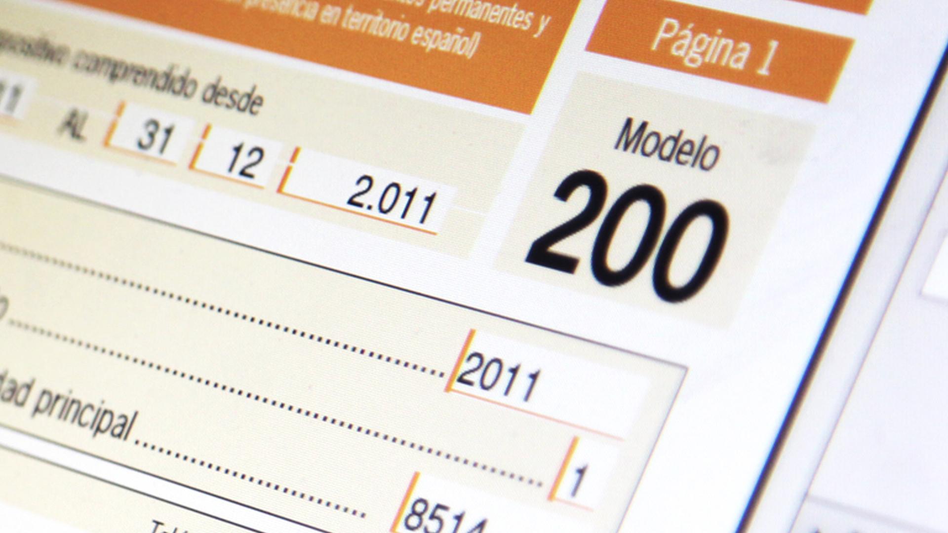 modelo 200 españa